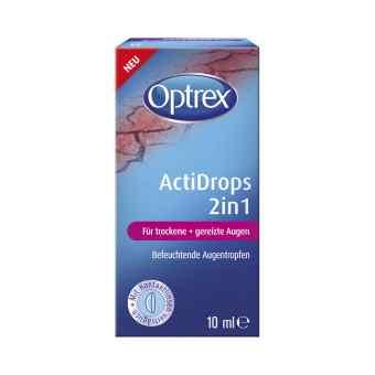 Optrex Actidrops 2in1 für trockene+gereizte Augen bei apo-discounter.de bestellen