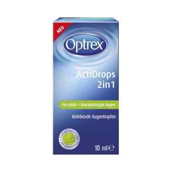 Optrex Actidrops 2in1 für müde+überanstrengte Augen