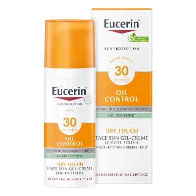 Eucerin Sun Gel-creme Oil Contr.anti-gl.eff.lsf 30  bei apo-discounter.de bestellen