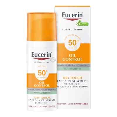 Eucerin Sun Gel-creme Oil Contr.anti-gl.eff.lsf50+  bei apo-discounter.de bestellen