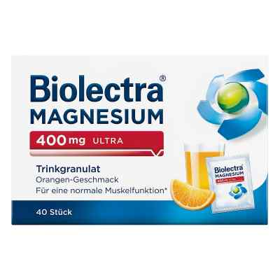 Biolectra Magnesium 400 mg ultra Trinkgran.orange  bei apo-discounter.de bestellen