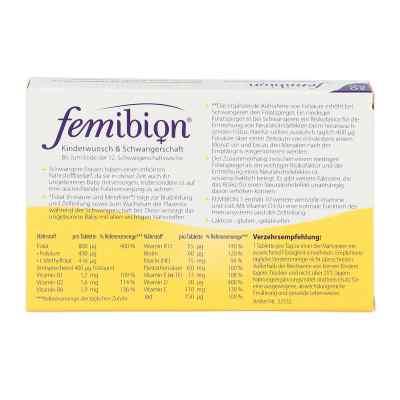 Femibion Schwangerschaft 1 D3+800 [my]g Folat Tabl  bei apo-discounter.de bestellen