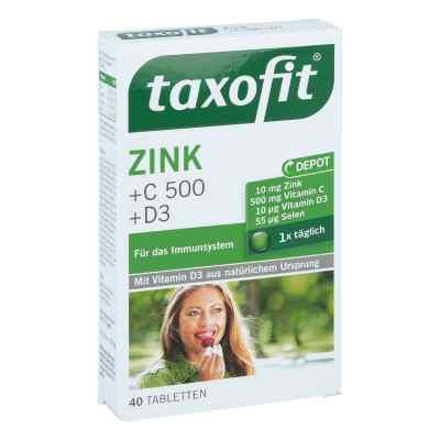 Taxofit Zink+c 500+selen+d3 Tabletten  bei apo-discounter.de bestellen