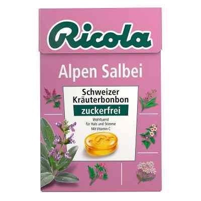 Ricola ohne Zucker Box Alpen Salbei Bonbons