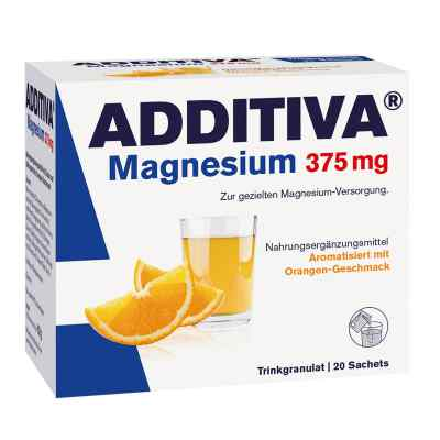 Additiva Magnesium 375 mg Granulat Orange  bei apo-discounter.de bestellen
