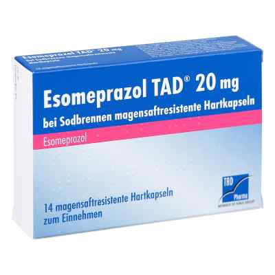 Esomeprazol TAD 20mg bei Sodbrennen  bei apo-discounter.de bestellen