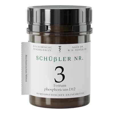 Schüssler Nummer 3  Ferrum phosphoricum D 12 Tabletten  bei apo-discounter.de bestellen