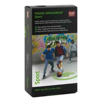 Bort Patella Sehnenband Sport Größe 2  schwarz/grün  bei apo-discounter.de bestellen