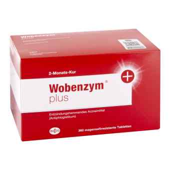 Wobenzym plus magensaftresistente Tabletten  bei apo-discounter.de bestellen