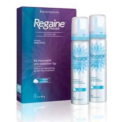 REGAINE Frauen Schaum bei erblich bedingtem Haarausfall  bei apo-discounter.de bestellen