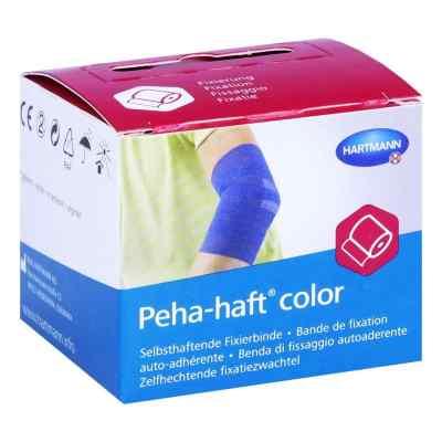 Peha-haft Color Fixierbinde latexf.4 cmx4 m blau  bei apo-discounter.de bestellen