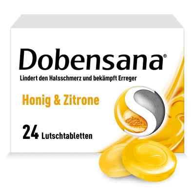 DOBENSANA Honig & Zitrone Lutschtabletten bei Halsschmerzen  bei apo-discounter.de bestellen
