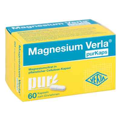 Magnesium Verla purKaps vegane Kapseln zum Einn...