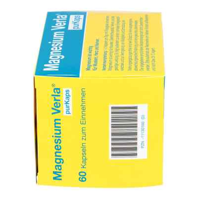 Magnesium Verla purKaps vegane Kapseln zum Einnehmen   bei apo-discounter.de bestellen