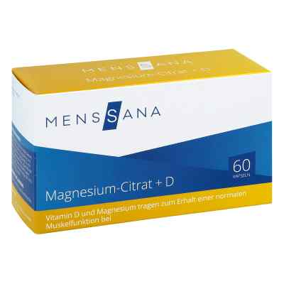 Magnesiumcitrat+d Menssana Kapseln  bei apo-discounter.de bestellen