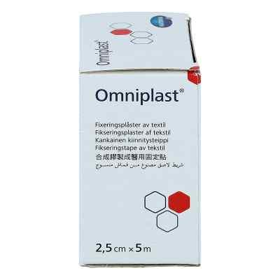 Omniplast Fixierpflaster Textilgew.2,5 cmx5 m  bei apo-discounter.de bestellen