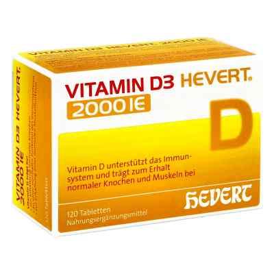 Vitamin D3 Hevert 2.000 I.e. Tabletten  bei apo-discounter.de bestellen