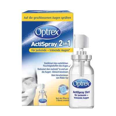Optrex Actispray2in1 für juckende+tränende Augen