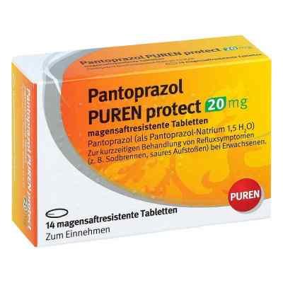 Pantoprazol Puren protect 20 mg magensaftresistent Tabletten