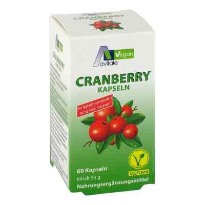Cranberry Vegan Kapseln 400 mg  bei apo-discounter.de bestellen