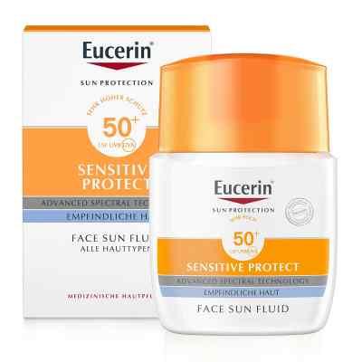 Eucerin Sun Fluid mattierend Lsf 50+  bei apo-discounter.de bestellen