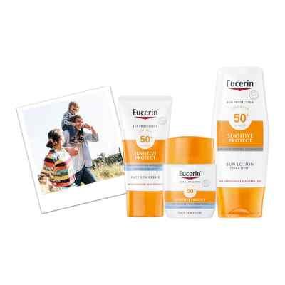 Eucerin Sun Sensitive Protect Face Fluid LSF 50+  bei apo-discounter.de bestellen