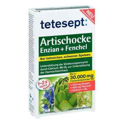 Tetesept Artischocke Enzian+fenchel Tabletten  bei apo-discounter.de bestellen