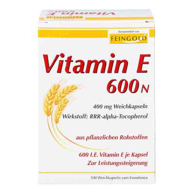Vitamin E 600 N Weichkapseln  bei apo-discounter.de bestellen