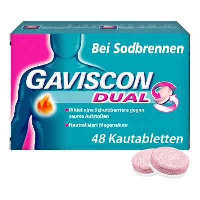 GAVISCON Dual Kautabletten bei Sodbrennen  bei apo-discounter.de bestellen