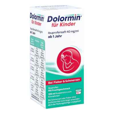 Dolormin für Kinder Ibuprofensaft 40mg/ml  bei apo-discounter.de bestellen