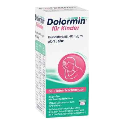 Dolormin für Kinder Ibuprofensaft 40mg/ml  bei apo-discounter.de bestellen