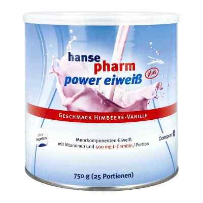 Hansepharm Power Eiweiss plus Himbeere-vanille Plv  bei bioapotheke.de bestellen