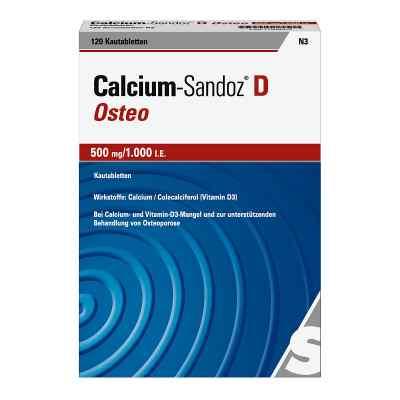 Calcium-Sandoz D Osteo 500mg/1000 internationale Einheiten  bei apo-discounter.de bestellen