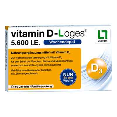 Vitamin D-loges 5.600 I.e. Kautablette (n) familienpackung  bei bioapotheke.de bestellen