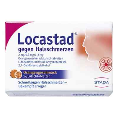 Locastad gegen Halsschmerzen 2mg/0,6mg/1,2mg Orange  bei apo-discounter.de bestellen