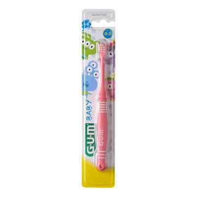 GUM Baby Zahnbürste Monster 0-2 Jahre  bei apo-discounter.de bestellen