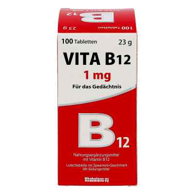 Vita B12 1 mg Lutschtabletten  bei apo-discounter.de bestellen