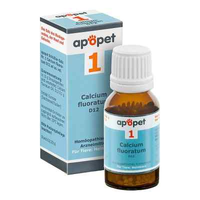 Apopet Schüssler-salz Nummer 1  Calcium fluor.D 12 veterinär   bei apo-discounter.de bestellen