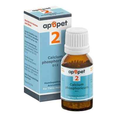 Apopet Schüssler-salz Nummer 2  Calcium phosphoricum D  12 veter  bei apo-discounter.de bestellen