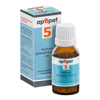 Apopet Schüssler-salz Nummer 5  Kalium phosphoricum D  6 veterin  bei apo-discounter.de bestellen