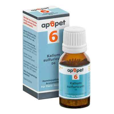 Apopet Schüssler-salz Nummer 6  Kalium sulf.D 6 veterinär   bei apo-discounter.de bestellen