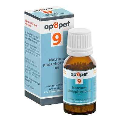 Apopet Schüssler-salz Nummer 9 Natrium phosphoricum D6 veterinär  bei apo-discounter.de bestellen