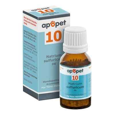 Apopet Schüssler-salz Nummer 10  Natrium sulf.D 6 veterinär   bei apo-discounter.de bestellen