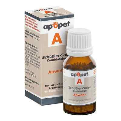 Apopet Schüssler-salze-kombination A ad usus vet.Gl.  bei apo-discounter.de bestellen