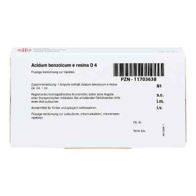 Acidum Benzoicum E Resina D 4 Ampullen  bei apo-discounter.de bestellen