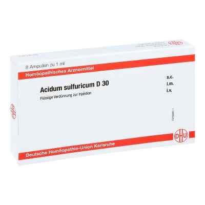 Acidum Sulfuricum D 30 Ampullen  bei apo-discounter.de bestellen