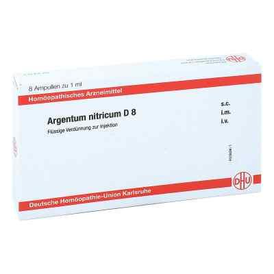Argentum Nitricum D 8 Ampullen  bei apo-discounter.de bestellen