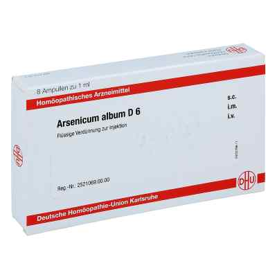 Arsenicum Album D 6 Ampullen  bei apo-discounter.de bestellen