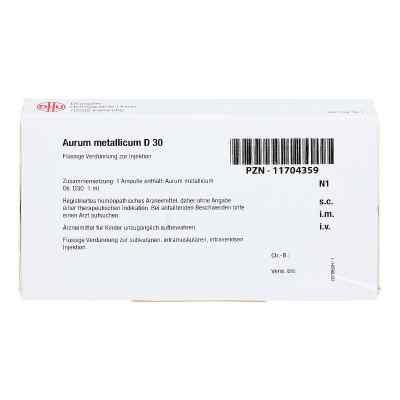 Aurum Metallicum D 30 Ampullen  bei apo-discounter.de bestellen