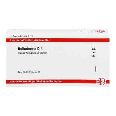Belladonna D 4 Ampullen  bei apo-discounter.de bestellen